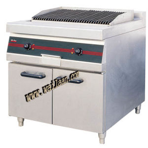 Electric Lava Rock Broiler with Cabinet (GEL90)