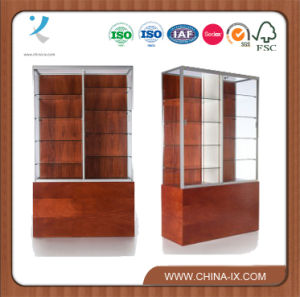 Tall Commercial Display Cabinet with Middle Partition pictures & photos