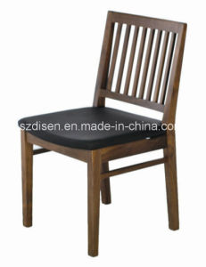 Solid Wood Restaurant Dining Chair with Stripe Back (DS-C516)