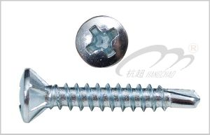 Oval Head Self Drilling Screw