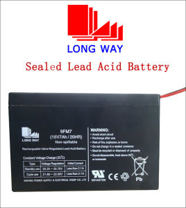 18V7ah Sound Equipment UPS Sealed Lead Acid Battery pictures & photos