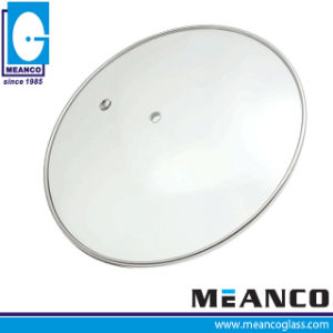 Glass Lid High Dome Tempered Glass Pot Lid pictures & photos