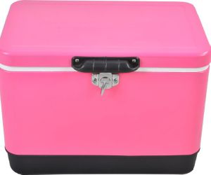 Pink Design Stainless Steel Cooler Box