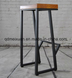 Solid Wood Bar Stool (M-X3606) pictures & photos