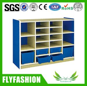 Wooden Toy Storage Cabinet Designs for Kids (SF-126C) pictures & photos