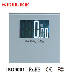 Ce Approval Electronical Personal Bathroom Scale pictures & photos