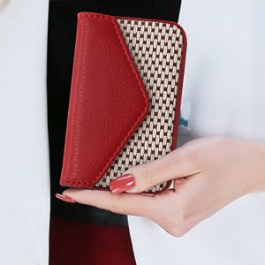 Women Business Card Holder With Magnetic Shut For Las