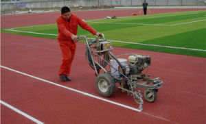 Line Marker Machine for Athletic Track pictures & photos