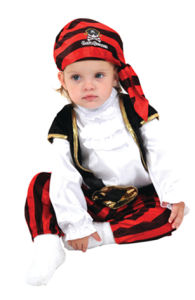 3659d30d2e8 Baby Pirate Costume Captain Stinker Halloween Fancy Dress
