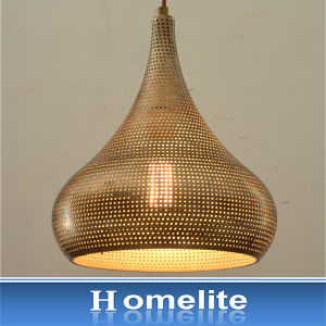 Hometile Punch Metal Pendant Light