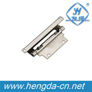 Metal Spring Loaded Concealed Pin Hinges for Door Cabinet (YH9340) pictures & photos