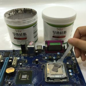 Good Quality High Thermal Conductivity Grey Silicone Grease pictures & photos