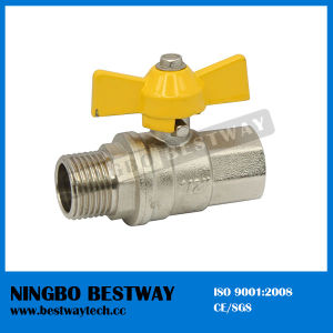 High Quality Brass Gas Valve Fxm with Butterfly Handle (BW-B137FM) pictures & photos