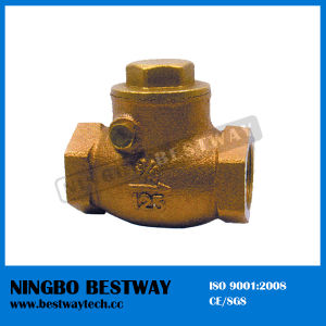 High Quality Bronze Swing Check Valve (BW-Q11) pictures & photos