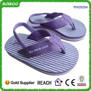 China Quality Baby Rubber Flip Flops