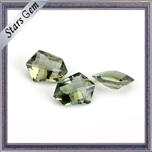 Special Shape Olive Color Well Polishing Crystal Glass pictures & photos