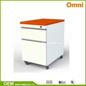 Simple Colored Two Drawer Pedestal (OM-FC-30) pictures & photos