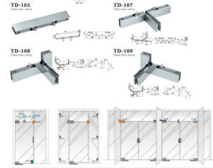 Stainless Steel High Quality Patch Fitting / Td-107 pictures & photos