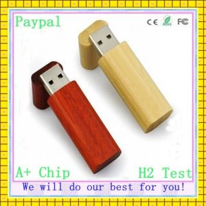 Full Capacity Wholesale Wooden USB Flash Disk