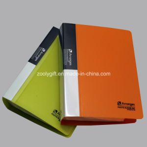 Customize Logo Printing Plastic PP / PVC Promotional Gift Photo Album pictures & photos