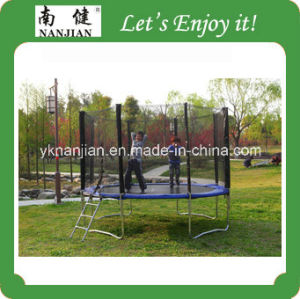 Outdoor Trampoline with Enclosure Nj-Big13 pictures & photos