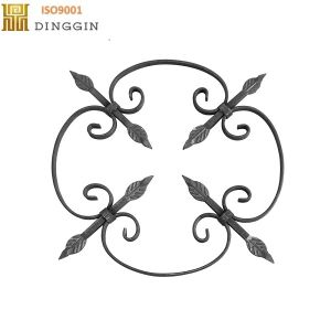 Wrought Iron Handrail Starts Fence Ornament pictures & photos