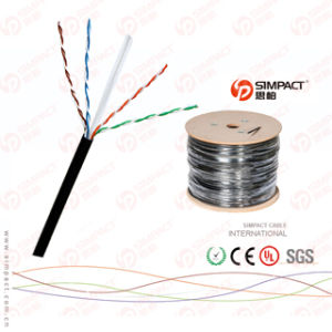 Solid Copper Cable Outdoor UTP Cat5e pictures & photos