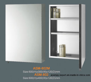 Stainless Steel Mirror Cabinet (ASM-802)