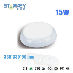 15W IP65 LED Bulkhead Ceiling Light with 3 Years Warranty