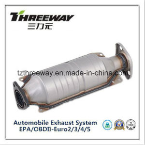 Three Way Catalytic Converter Direct Fit for Honda 2.2 CD5 pictures & photos