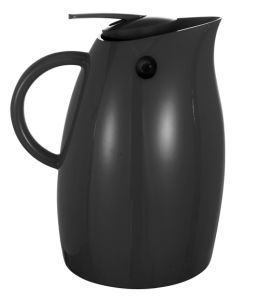 Black Gl Lined Plastic Vacuum Insulated Coffee Jug Pgp 1000l Stainless Steel