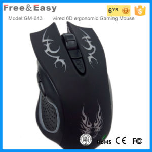 6D Gaming Mouse with Light Sensor LED Light pictures & photos