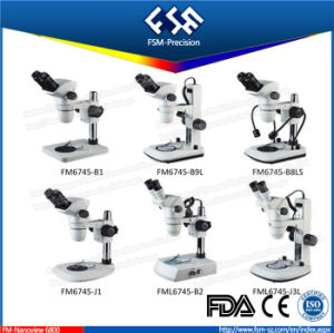 FM6745 Research Ditigal Zoom Stereo Microscope