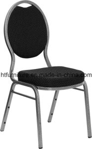 Spoon Back Metal Banquet Chair