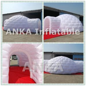 New Design Giant White Color Inflatable Tennis Sports Tent pictures & photos