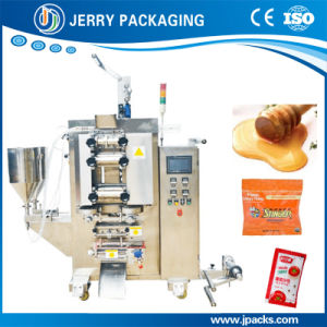 Automatic Double Rows Sauce Pouch Packaging Packing Machine pictures & photos