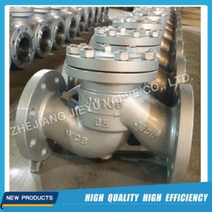 Dn100 Pn25 Carbon Steel Lift Type Check Valve pictures & photos