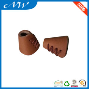 Fashion Leather Cord End Stopper for Garments