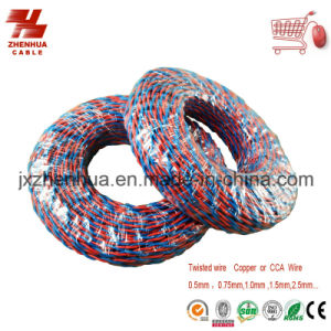 PVC Insulated Soft Cable and Wire Copper Core Rvs Twisted Electric Cable pictures & photos