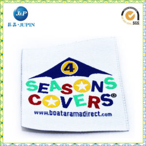 Personalized Embroidered Clothing Woven Name Labels (JP-CL040) pictures & photos