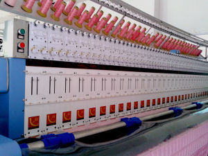Industrial Embroidery Quilting Machine Computerized 33 Heads pictures & photos