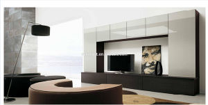 2016 Simple Wood TV Cabinet Design (VT-WT001)