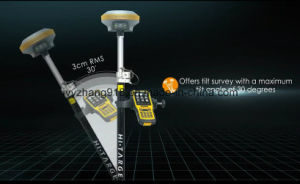 Land Surveying Instruments China Brand Hi-Target V90 GPS Rtk Base and Rover pictures & photos