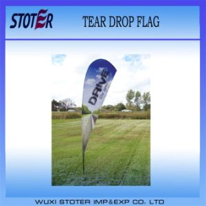 2014 Outdoor Advertising Teardrop Flag