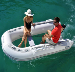 Clear bottom boat