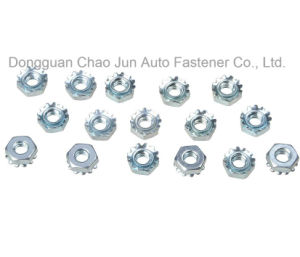 High Quality Keps Nut with Zinc Plated