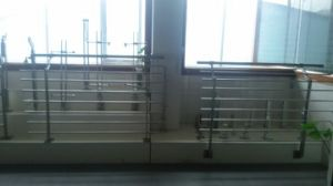 Wood Handrail Balcony Railing (HR1336-2) pictures & photos