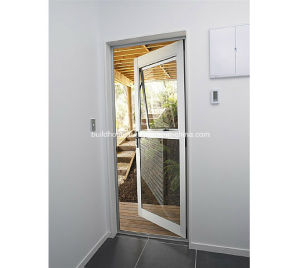 Firmness Thermal Break Frames Double Glass Aluminium Doors pictures & photos