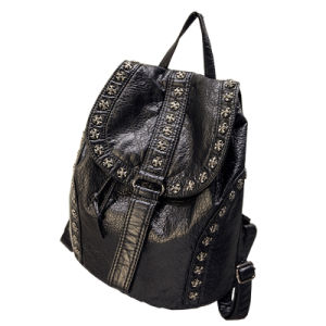 Guangzhou Suppliers High Quality PU Ladies Backpack (FW009)