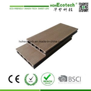 Low Cost and High Quality Hollow WPC Garden Decking/ Wood Color WPC Decking